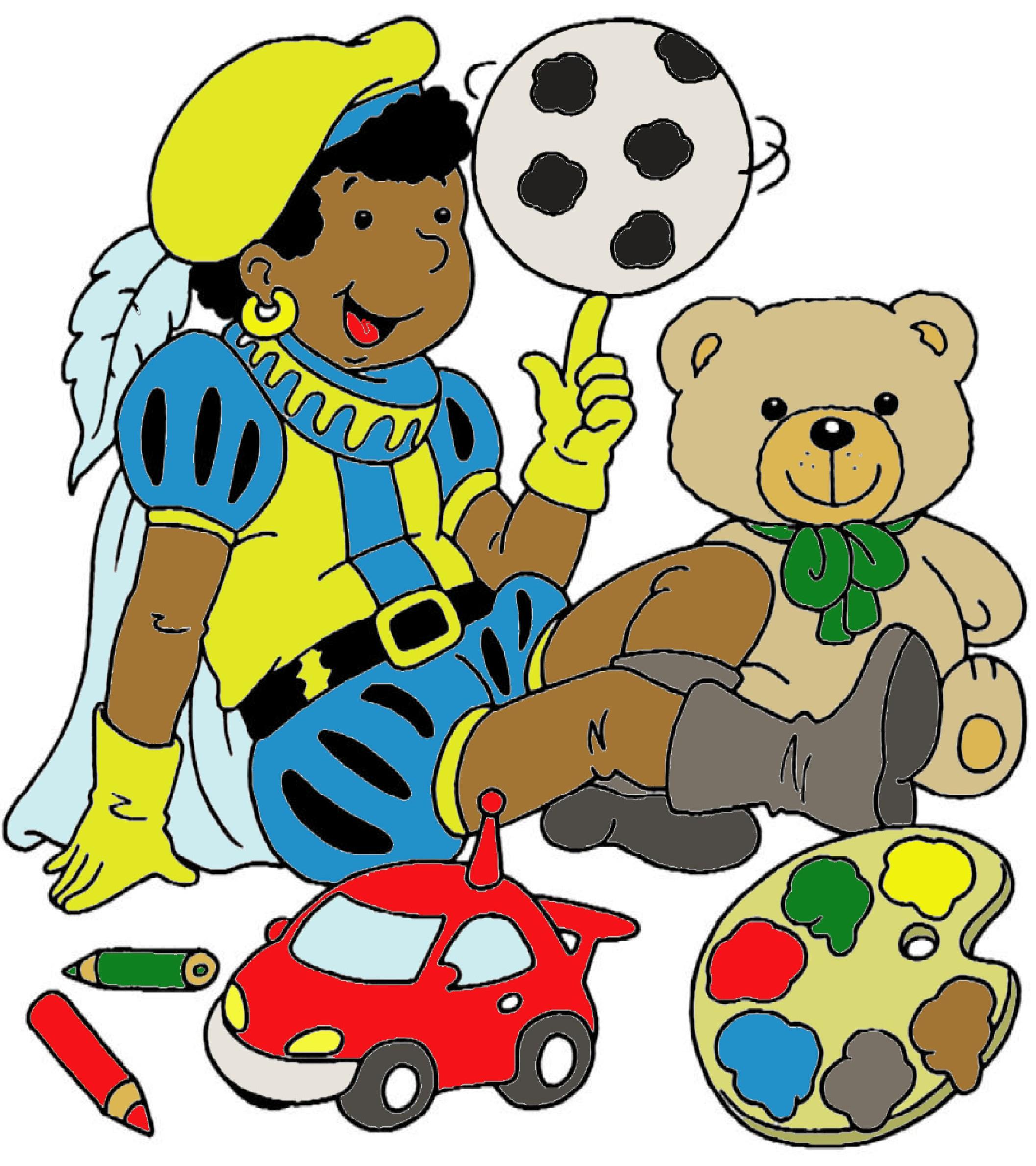 Kleurplaten Voetbal Piet.Kleurplaat Zwarte Piet Robinkopie Voetbal Vereniging Veenendaal